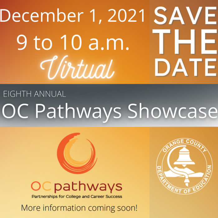 OC Pathways Save the Date 2021